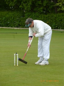 David Goacher at Nailsea Open Advanced Tournament, May 2015